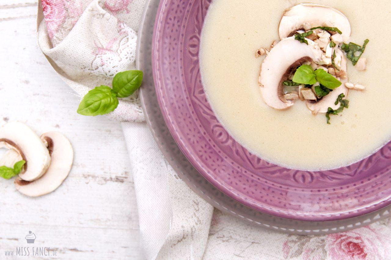 Champignoncremesuppe selbstgekocht? Nichts leichter als das! | Miss Fancy - Köstlichkeiten aus meiner Küche