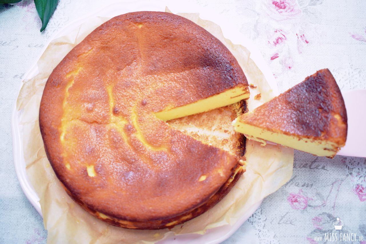 Rezept Käsekuchen ohne Boden Missfancy