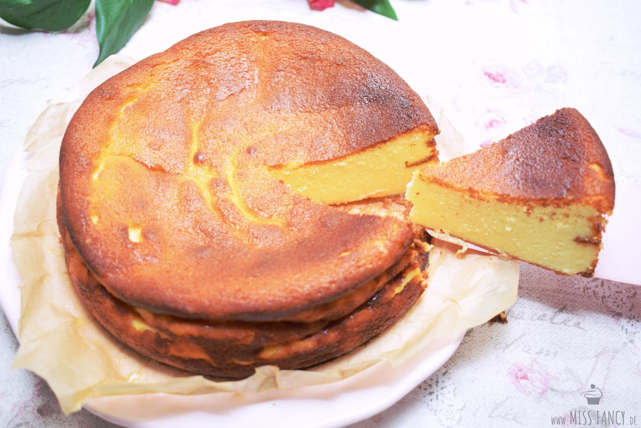 Klassischer Käsekuchen Ohne Boden Miss Fancy Food Beauty Blog