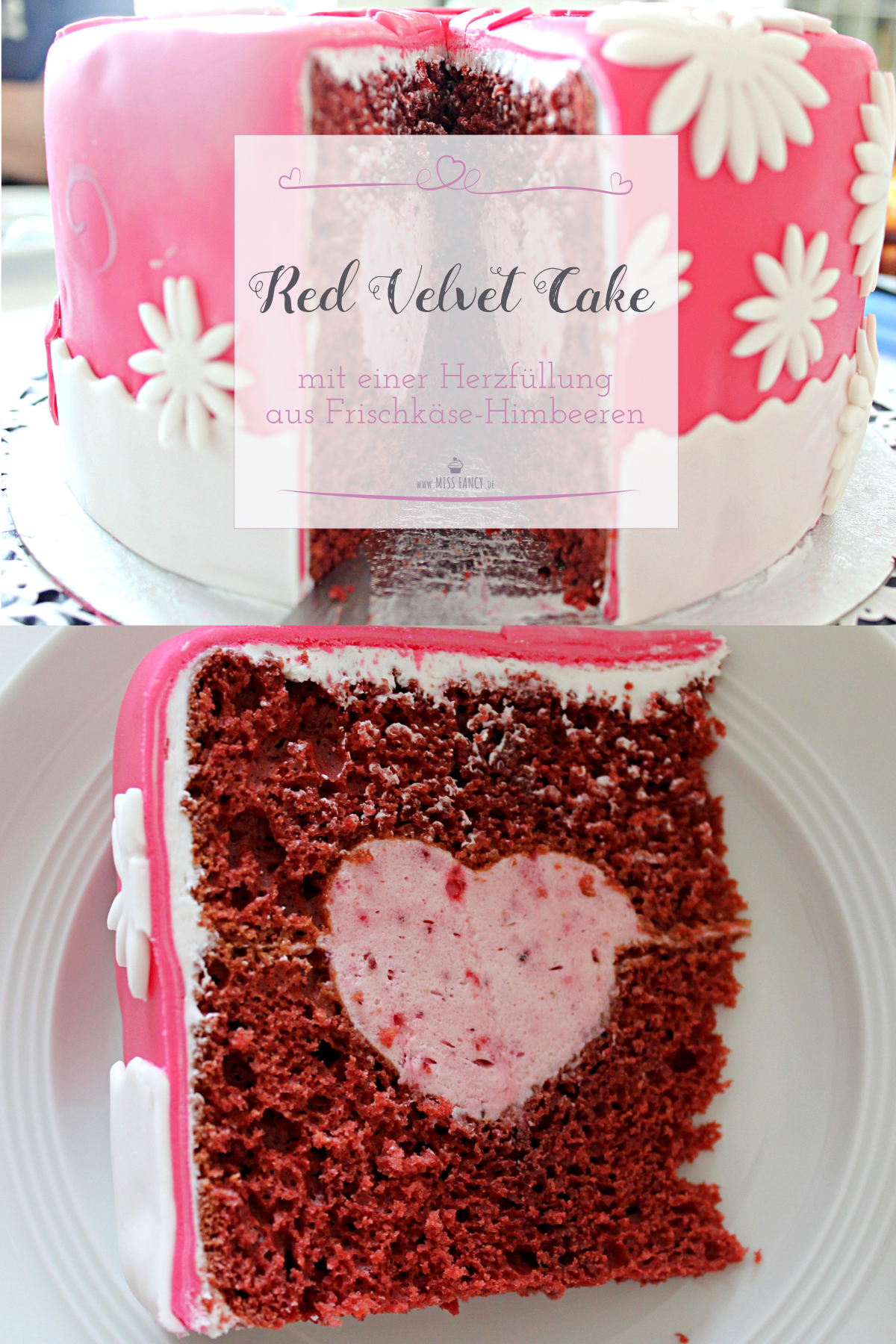 Red Velvet Cake Zu Valentinstag Miss Fancy Lifestyle Blog