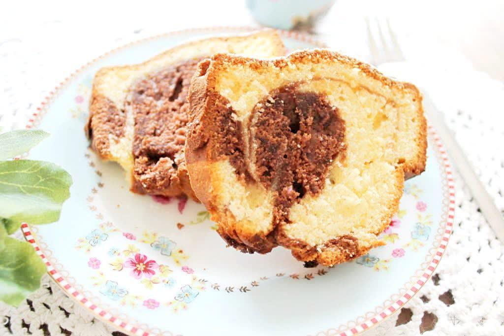 Klassischer Marmorkuchen Miss Fancy Kostlichkeiten Aus Meiner Kuche