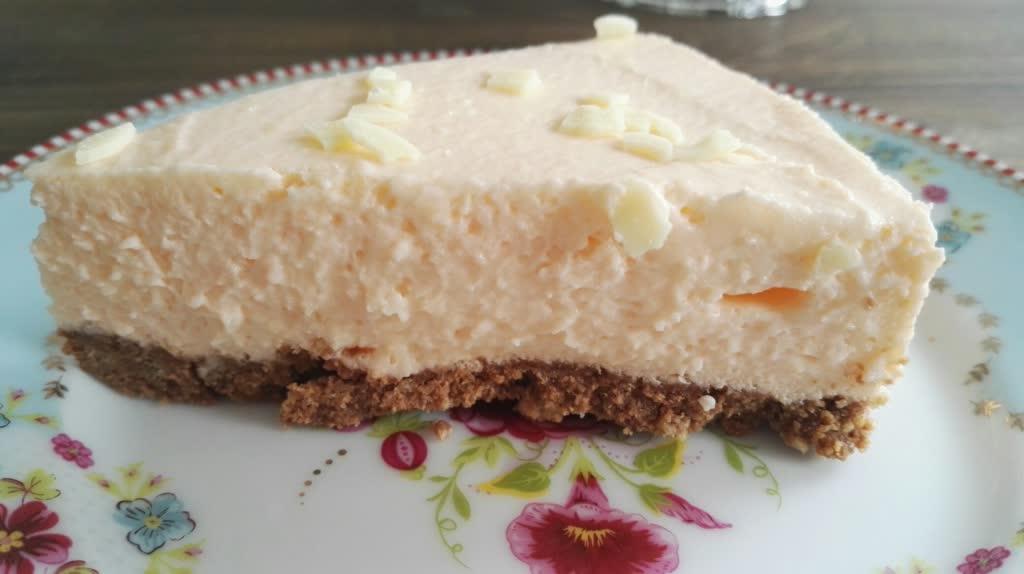 No Bake Orangentorte