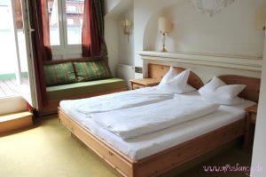 Unser schönes Bett