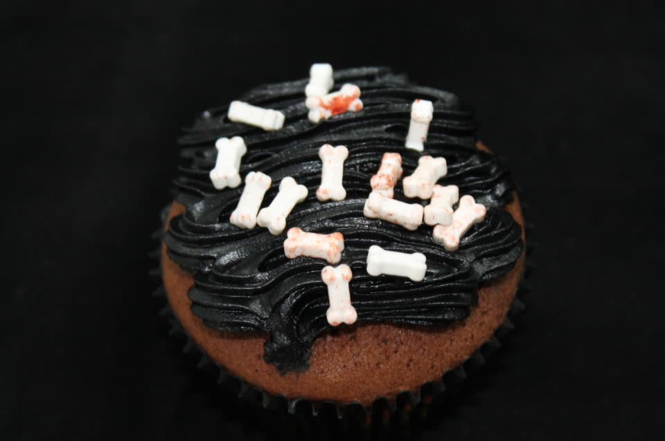 Cupcake Schwarzknochen