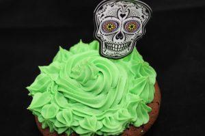 Schoko-Rum-Halloween-Cupcakes