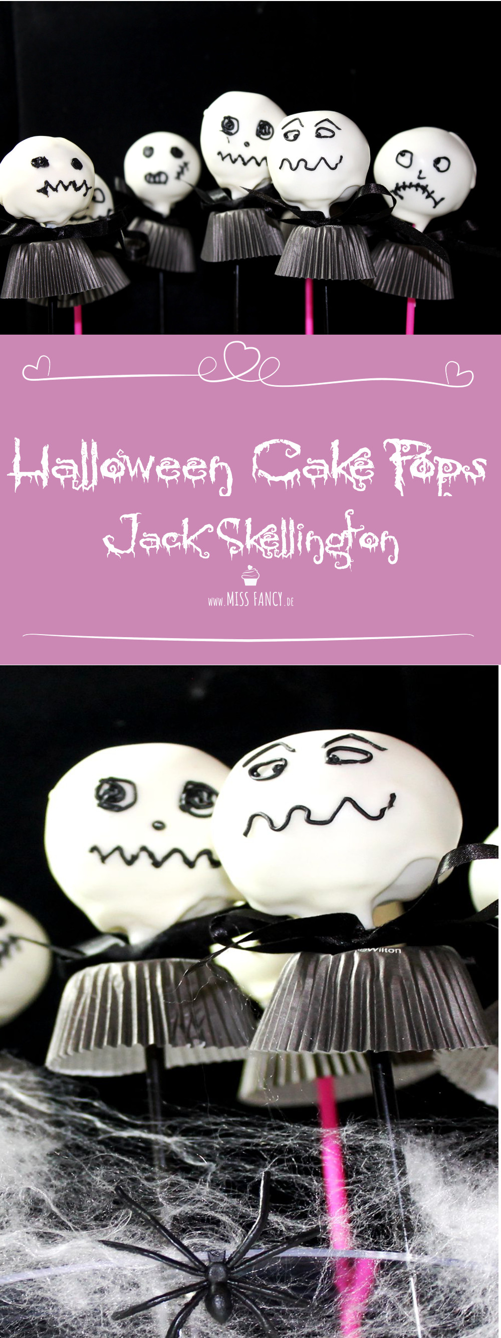 Rezept Halloween Cake Pops Jack-Skellington Missfancy Foodblog