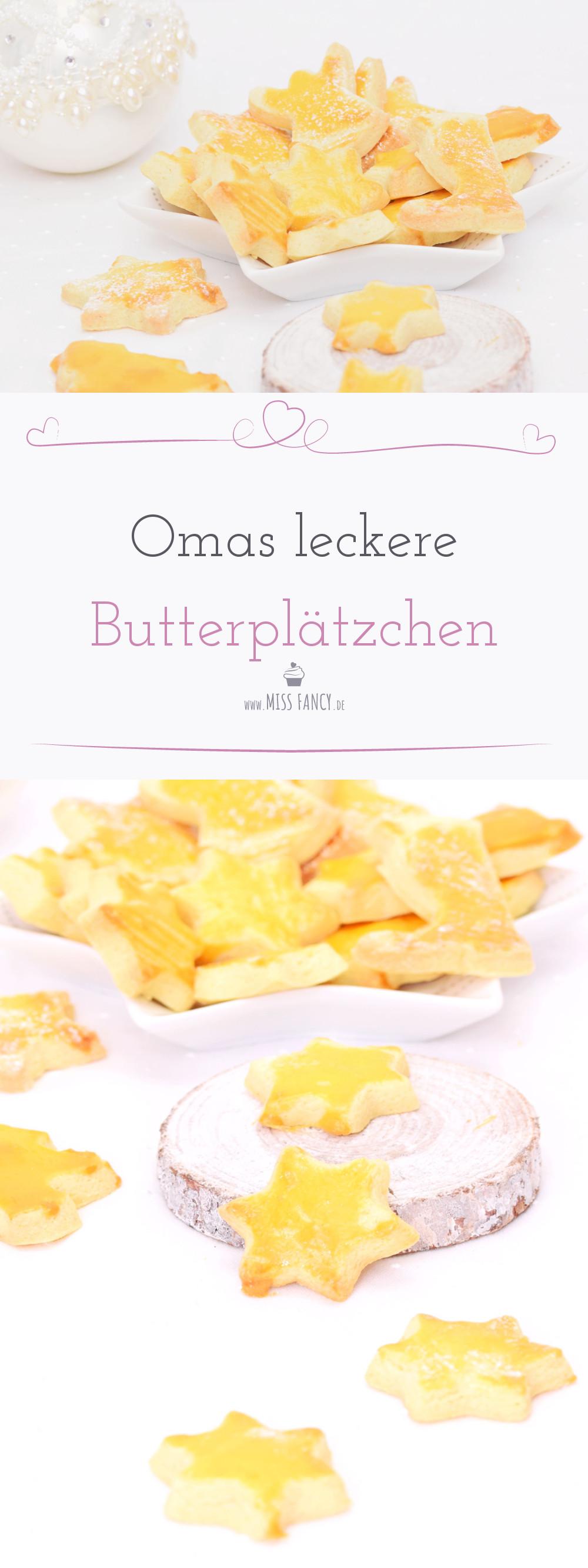 rezept omas leckere Butterplätzchen
