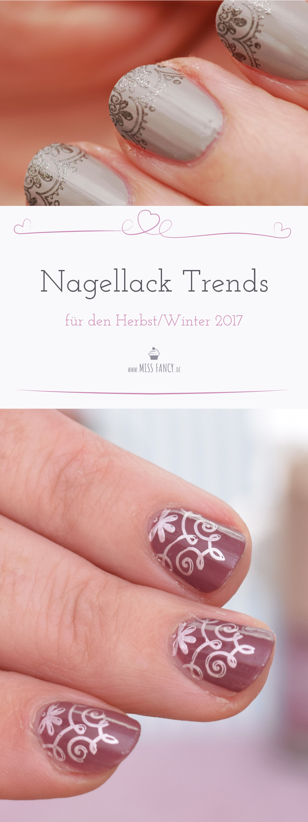 Nagellack Trendfarben Herbst 2017 | Miss Fancy - Food & Beauty Blog