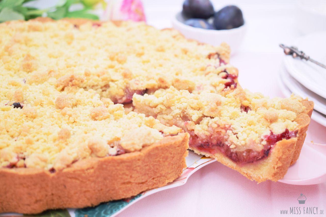 Rezept Zwetschgenkuchen mit Mürbeteigboden und Streusel Missfancy Foodblog