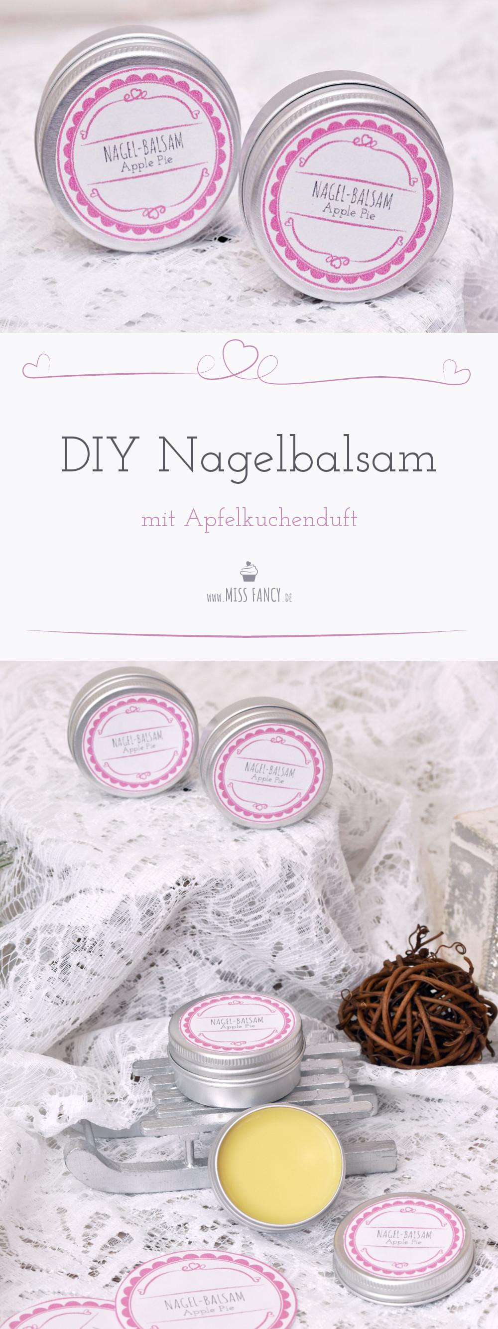 DIY Nagelbalsam mit Apfelkuchen-Duft