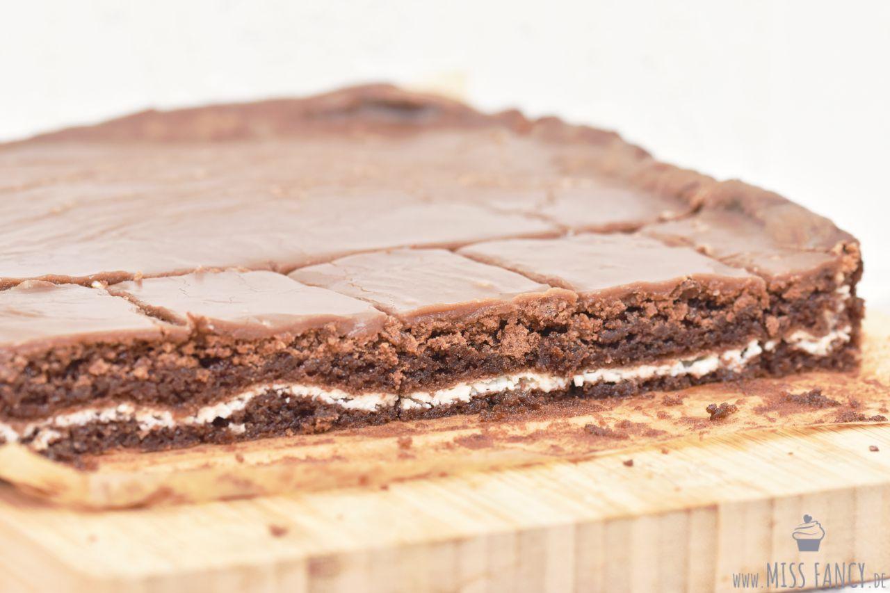 Rezept-Brownies mit Cremefüllung