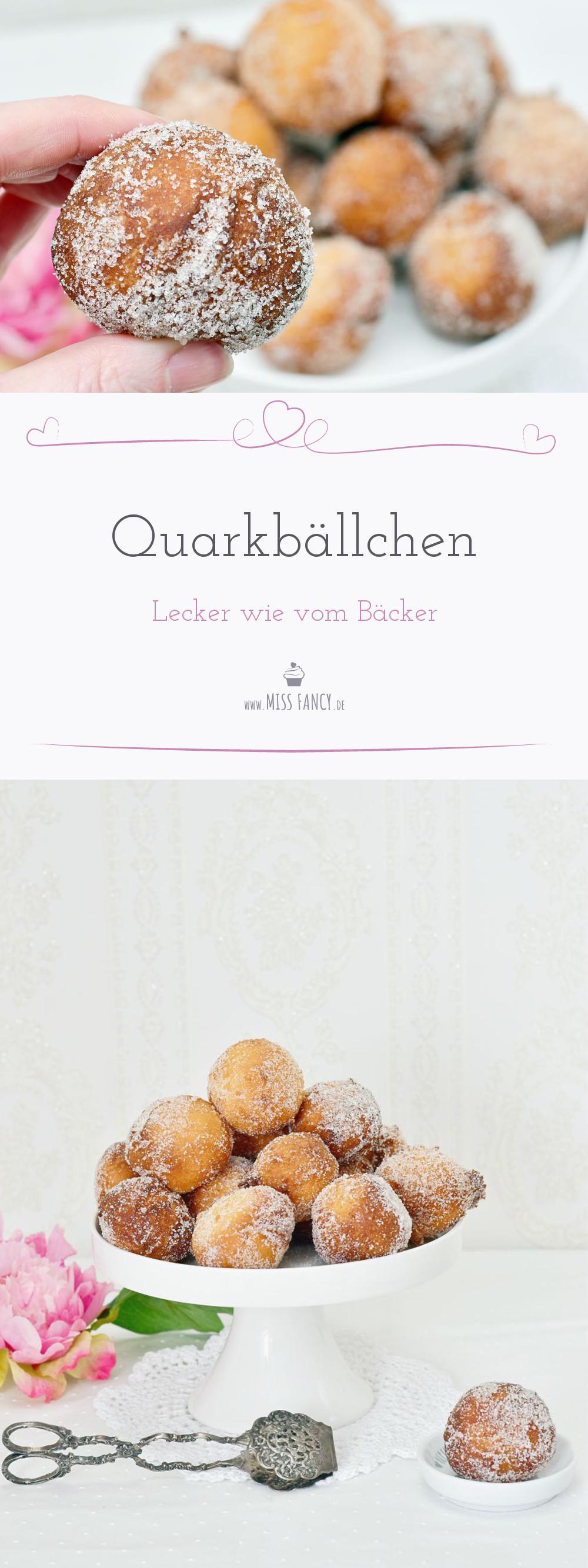 Rezept leckere Quarkbällchen
