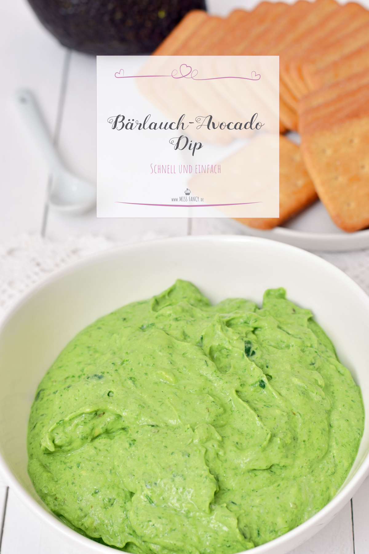 Rezept-Bärlauch-Avocado-Dip-Einfach