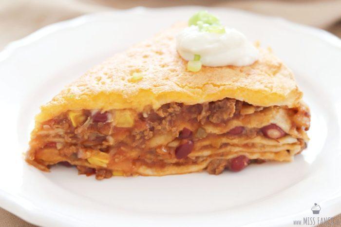 Schnell gemacht: Mexikanische Lasagne