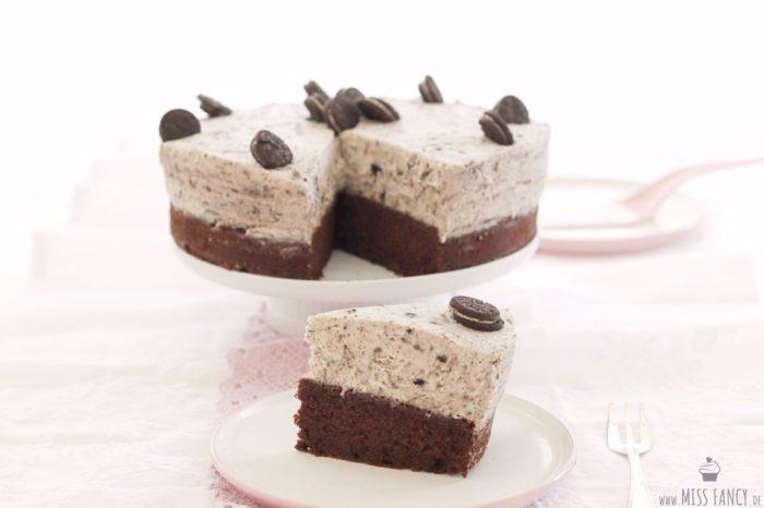 Mega schokoladig: Oreo-Brownie-Torte