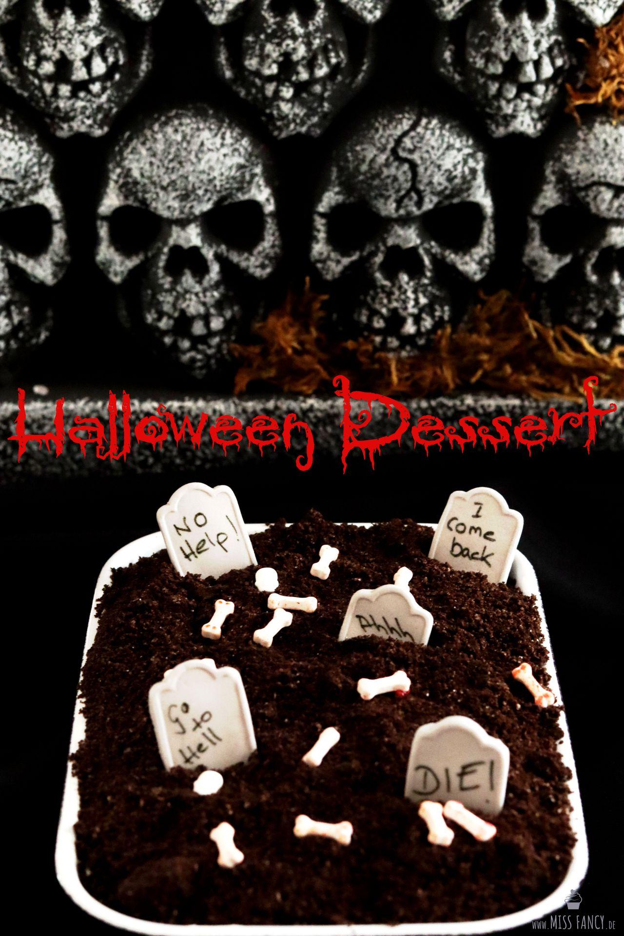 Rezept für ein leckeres Halloween Dessert