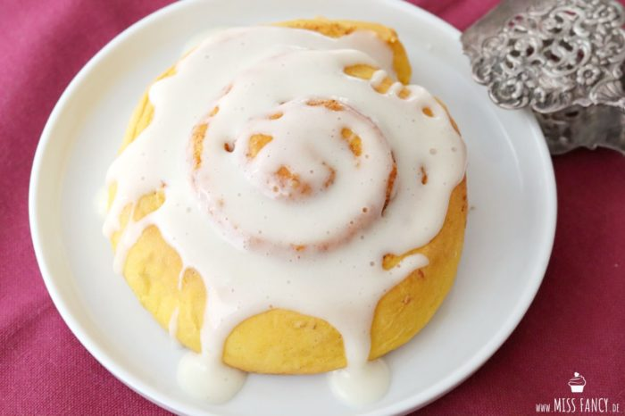 Kürbis Zimtschnecken | Miss Fancy - Köstlichkeiten aus meiner Küche