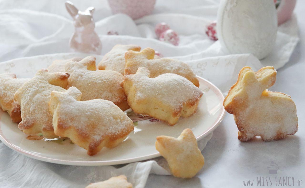 Süße Gebäck Häschen Zu Ostern Miss Fancy Food More Blog