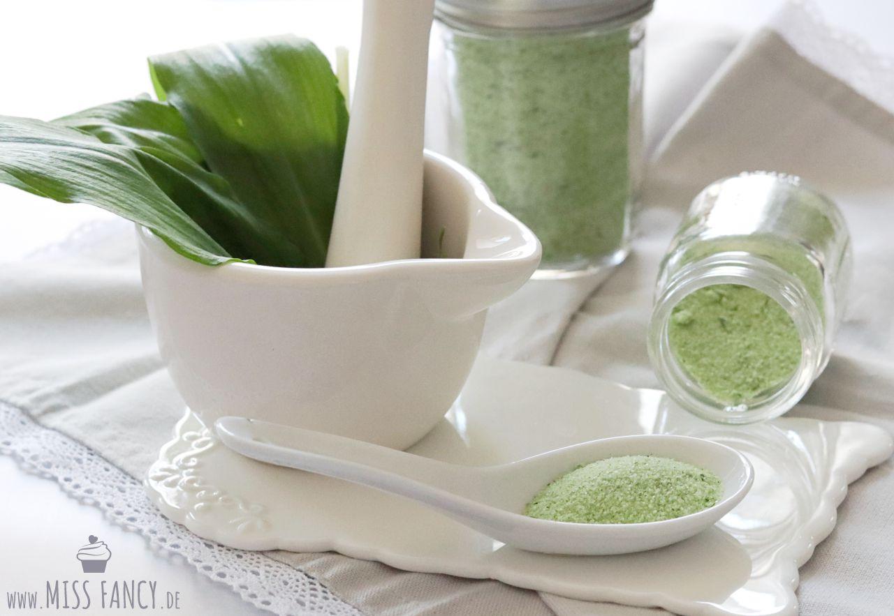 Bärlauch-Salz einfach selbst gemacht | Miss Fancy - Lifestyle Blog